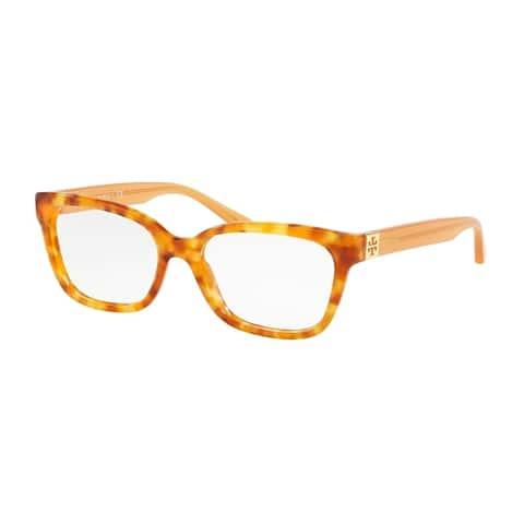 Tory Burch Square TY2084 Women's AMBER TORT Frame DEMO LENS Eyeglasses
