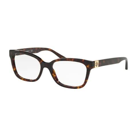 Tory Burch Square TY2084 Women's DARK TORT Frame DEMO LENS Eyeglasses