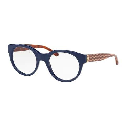 Tory Burch Round TY2085 Women's NAVY Frame DEMO Eyeglasses