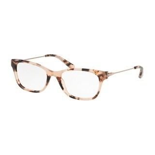 Tory Burch Square TY2063 Women's BLUSH TORT Frame DEMO LENS Eyeglasses