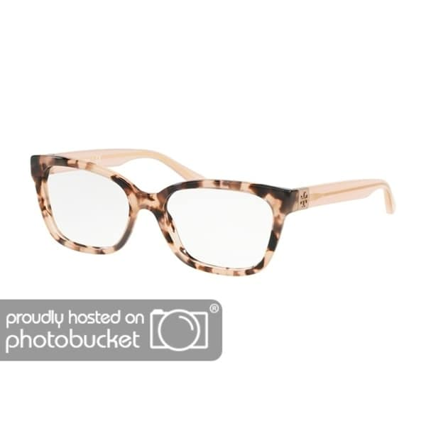 f953f1ff9 Shop Tory Burch Square TY2084 Women s BLUSH TORT Frame DEMO LENS Eyeglasses  - Free Shipping Today - Overstock - 25418183