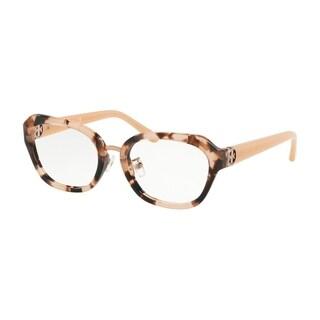 Tory Burch Irregular TY2089 Women's PEACH TORT Frame DEMO LENS Eyeglasses