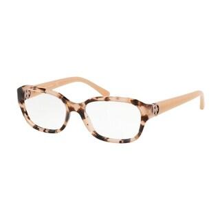 Tory Burch Rectangle TY2088 Women's PEACH TORT Frame DEMO LENS Eyeglasses