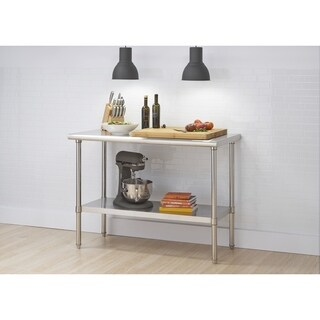 TRINITY PRO EcoStorage NSF Stainless Steel Table