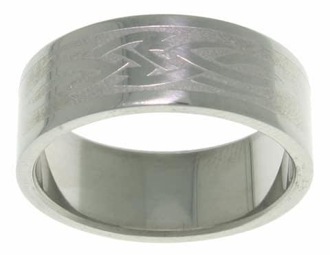 Men's Celtic Tribal Knot Stainless Steel Ring