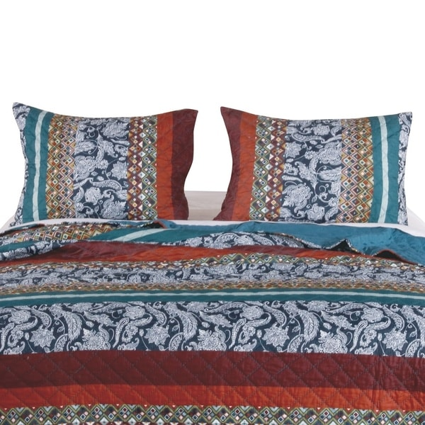 Barefoot Bungalow Vista Quilted Pillow Shams, Set of Two