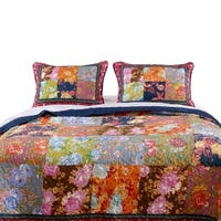 Barefoot Bungalow Desiree Quilted Pillow Shams, Set of Two