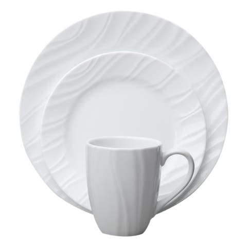 Corelle Boutique 16-Piece Dinnerware Set - Swept