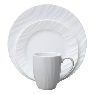 Corelle Boutique 16-Piece Dinnerware Set - Swept