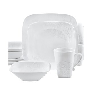 Corelle Boutique 16-Piece Dinnerware Set - Cherish Square