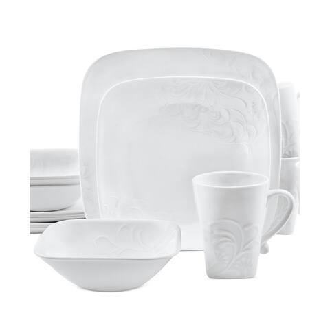 Corelle Boutique 16-Piece Dinnerware Set - Cherish Square