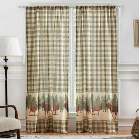 "Greenland Home Moose Creek Curtain Panel Pair - 42"" w x 84"" l"