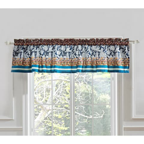 Barefoot Bungalow Vista Window Valance