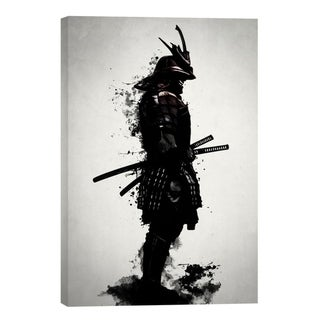 """Link to Cortesi Home """"Armored Samurai"""" by Nicklas Gustafsson, Giclee Canvas Wall Art - Black Similar Items in Canvas Art"""