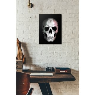 "Cortesi Home ""Mexican Skull"" by Nicklas Gustafsson, Giclee Canvas Wall Art - Black"