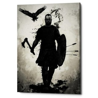 """Link to Cortesi Home """"To Valhalla"""" by Nicklas Gustafsson, Giclee Canvas Wall Art - Black Similar Items in Canvas Art"""