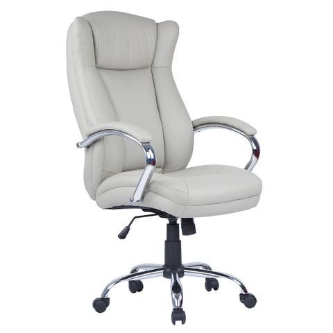 Somette Tufted Adjustable Computer Chair