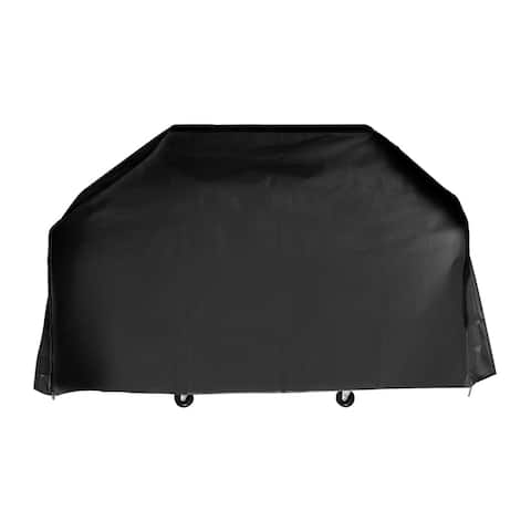 "Armor All Large Black BBQ Grill Cover (65""L x 25""W x 45""H)"