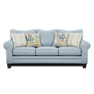 Labyrinth Sky Blue Sofa