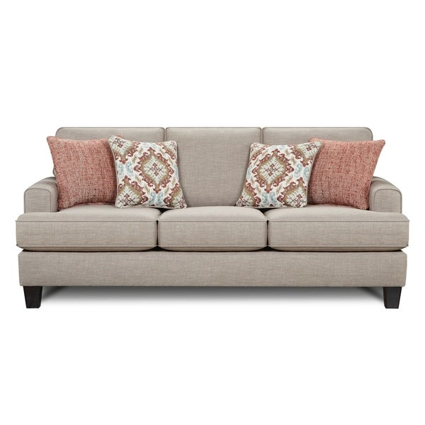 Shop Quinn Twilight Beige Sofa