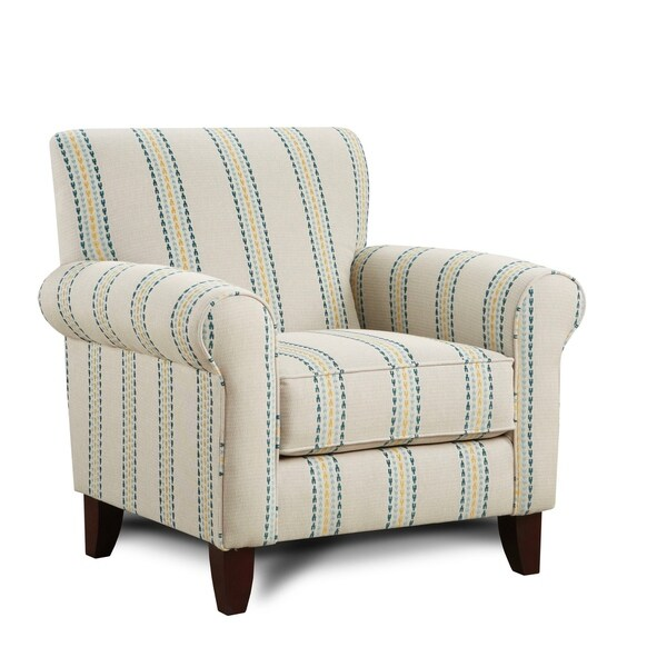 Shop Harmony Calypso Off White Accent Chair Free Shipping Today