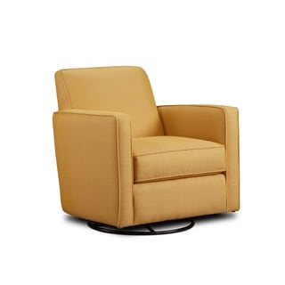 Link to 402 Gold Mine Citrine Swivel Glider Chair Similar Items in Living Room Chairs