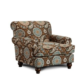 Artisan Turquoise Accent Chair