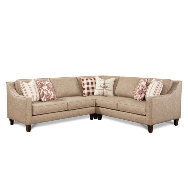 Will Tan Sectional Sofa