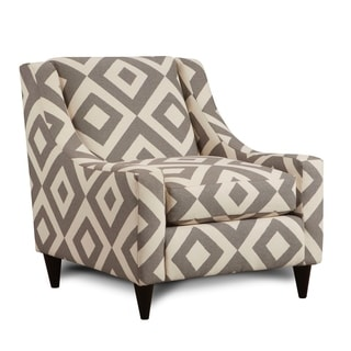 Square Charcoal Grey Chair