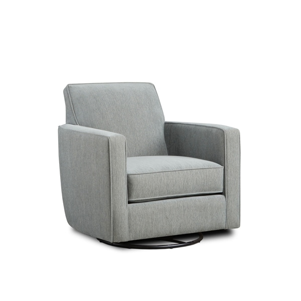 Shop Swanky Glass Grey Accent Chair Free Shipping Today