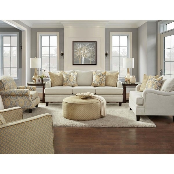 5950 Parker Linen Sofa