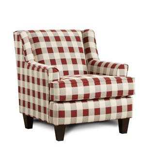 Buy Red Plaid Living Room Chairs Online At Overstock Our Best