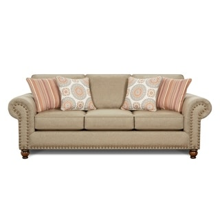 Link to Turino Sisal Tan Sleeper Sofa Similar Items in Sofas & Couches