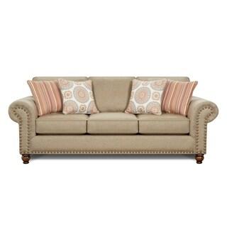 3114 Turino Sisal Tan Sleeper Sofa