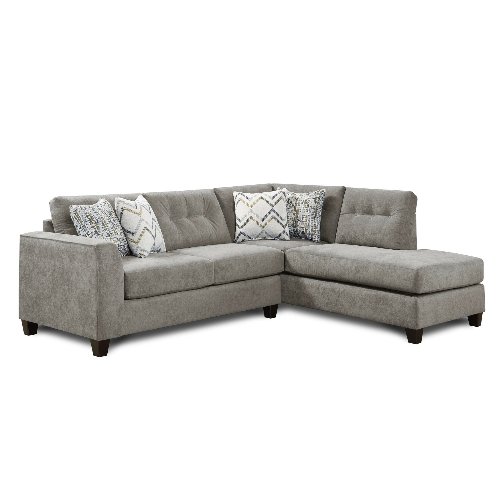 Superb Sensation Vintage Grey Chaise Sofa Onthecornerstone Fun Painted Chair Ideas Images Onthecornerstoneorg