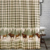 Greenland Home Moose Creek Shower Curtain