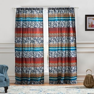 Link to Barefoot Bungalow Vista Curtain Panel Pair Similar Items in Window Treatments
