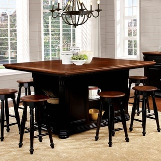 Furniture of America Kis Traditional 66-inch Kitchen Island