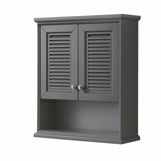 Tamara Wall-Mounted Storage Cabinet in Dark Gray