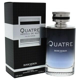 Boucheron Quatre Absolu de Nuit Men's 3.3-ounce Eau de Parfum Spray