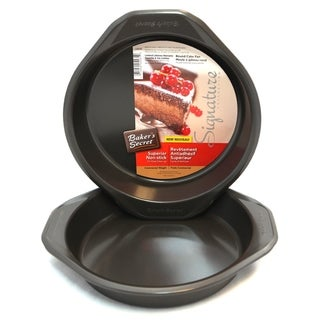"Link to Bakers Secret Signature 2-Pc 9"" Round Cake Set Similar Items in Bakeware"