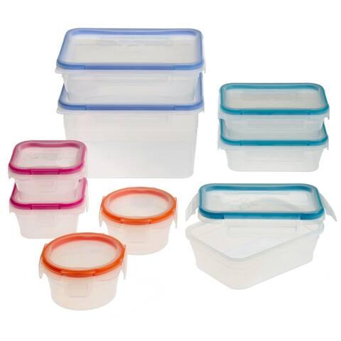Snapware Total Solution Plastic 18-Pc Set