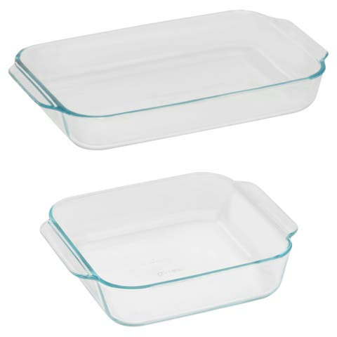 Pyrex 2-Pc Basics Bake Value Pack