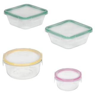 Snapware Universal Lid Glass 8-Pc Set