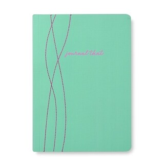 'Journal That' Stitched Detail Soft Cover Journal - 5.75 x 8.125 inches