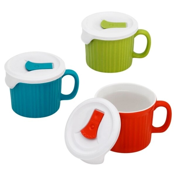 Corningware 6-Pc Pop-In Mugs