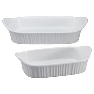 Shop Corningware French White 10 Piece Set Free Shipping