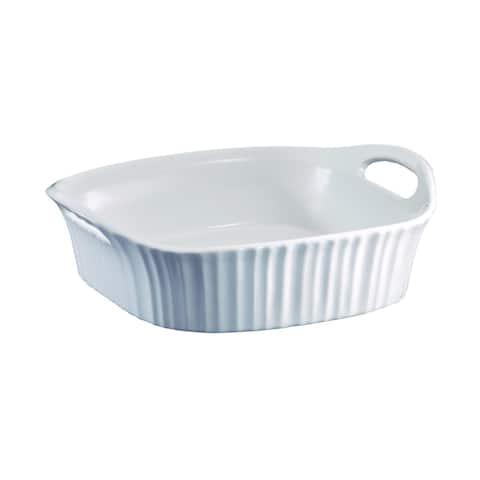 Corningware French White III 8x8 Square Baker