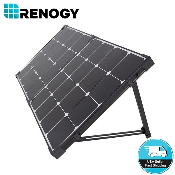Shop Renogy 100 Watt Eclipse Solar Panel Suitcase W O