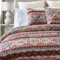 Bohemian Tribal 3-Piece  Quilt Set